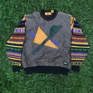 Vintage 90s Hip Hop Cosby Stitched Trutus Sweater